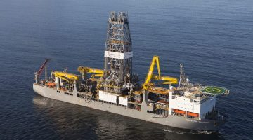 WATCH – Maiden Voyage Of The World's Newest Drillship