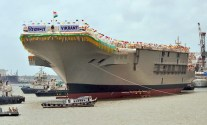 SPOTD: India's First Homegrown Aircraft Carrier Float Out