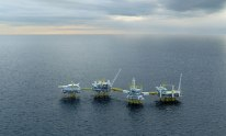 Steel Cut on Johan Sverdrup Drilling Platform
