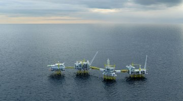 Johan Sverdrup rendering. Photo: Statoil