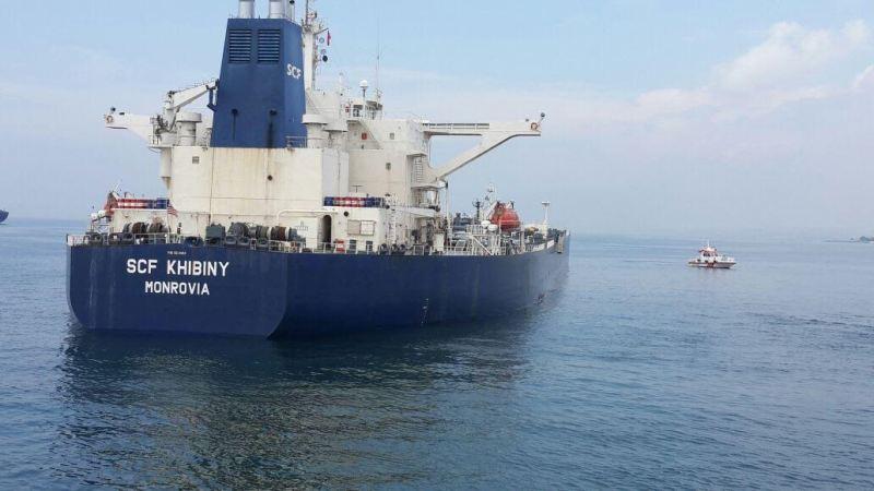 SCF Khibiny aground near Istanbul, Turkey, June 18, 2015. Photo: Turkish General Directorit
