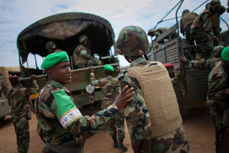 African Union Troops Somalia