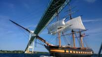 Old-Time Tall Ship Sets Sail with Modern-Day Power
