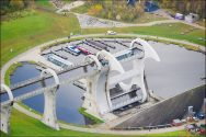 Falkirk Wheel Time-Lapse – The World's Only Rotating Boat Lift