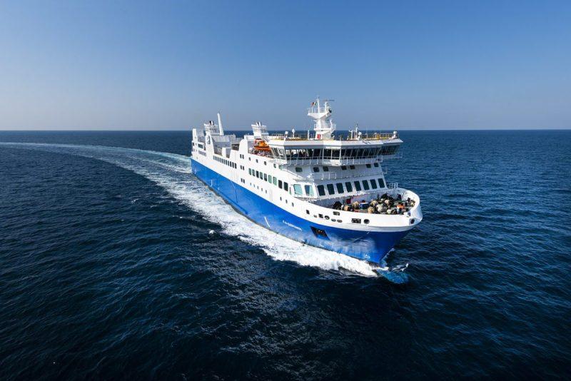 The F.-A.-Gauthier, owned by the Société des traversiers du Québec, is the first LNG-powered ferry in North America. Photo: Société des traversiers du Québec