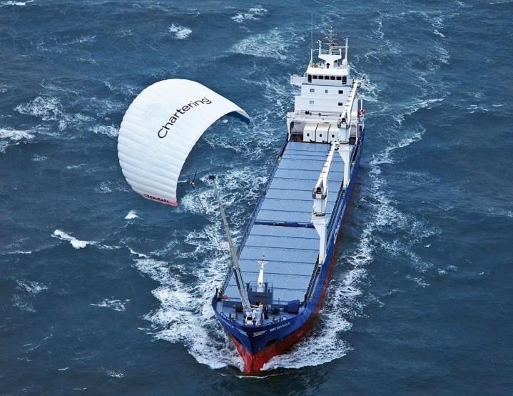 Kite sails example