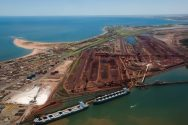 Port Hedland Iron Ore Hits Record High in September