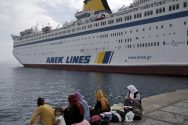 Greece Using Car Ferry to House Syrian Migrants