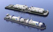 Jensen Unveils LNG Bunker Barge Concepts
