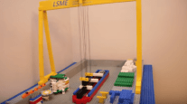 WATCH: Lego Stena IceMAX Build Time-Lapse