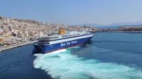 WATCH: Greek Ferry Docking Like a Boss!