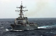 U.S. Navy Destroyer to Sail Within 12 Miles of China-Built Artificial Islands in South China Sea