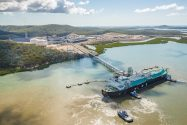 Ship Photos of the Day – First LNG Cargo Shipped from Australia's Santos GLNG Plant