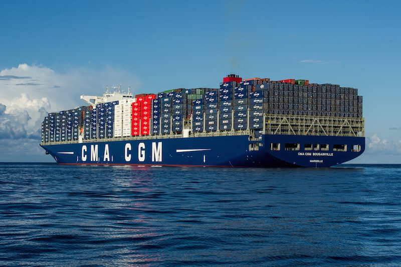 CMA CGM BOUGAINVILLE - Copyright MALMIF PHOTOGRAPHY 2