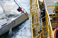 AHTS Tor Viking Rescues Mariner and Cat Off Alaska – Dramatic Photos and Video