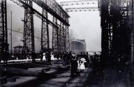Ship Photos of the Day – Five Previously Unseen Photos of the Titanic's Launch in Belfast