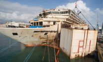 A Current Look At and Inside the Dismantled Costa Concordia