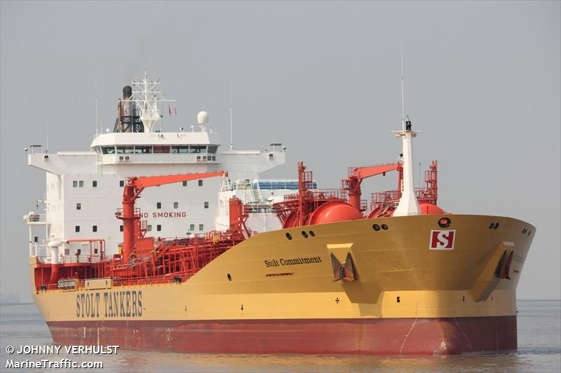 MT Stolt commitment. Photo: MarineTraffic.com/