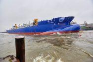 Ship Photos of the Day – Royal IHC Launches Dredger 'Jun Yang 1'
