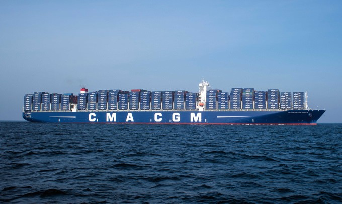 CMA CGM Benjamin Franklin. Photo: CMA CGM Group