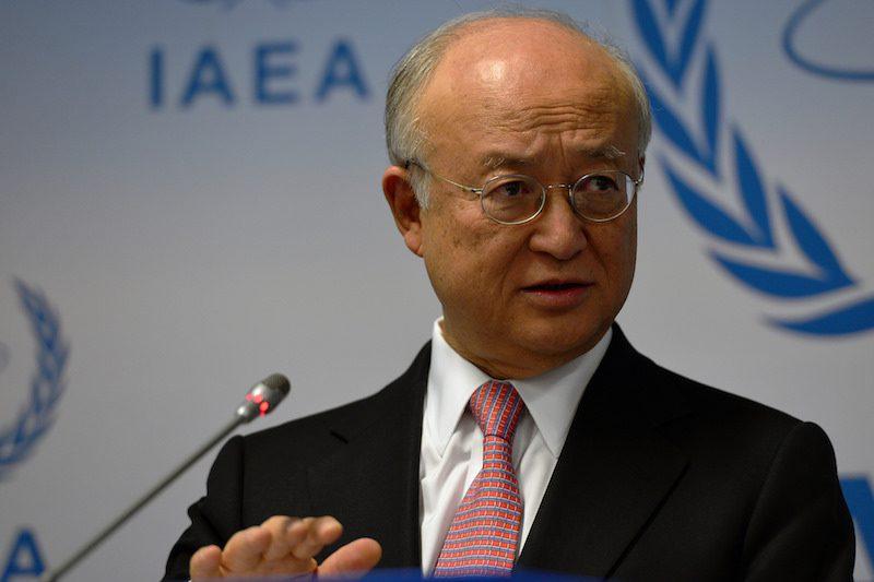 IAEA Director General Yukiya Aman. Photo Credit: Dean Calma / IAEA