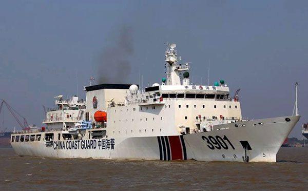 China Coast Guard (CCG) 3901. Photo: China Daily