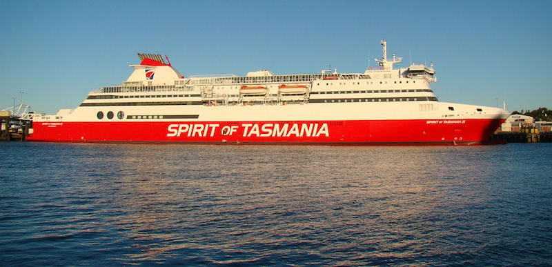 Spirit of Tasmania II. Photo: Creative Commons