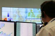 Multiple Crews Battling Cargo Ship Blaze Off England