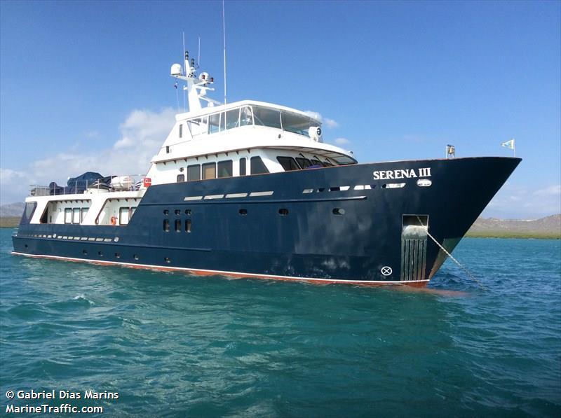 MY Serena III. Photo credit: MarineTraffic.om/