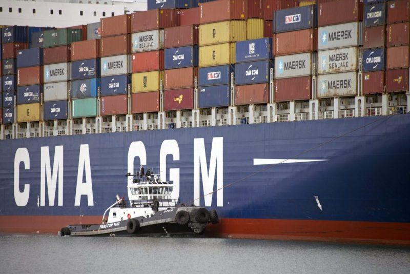 cma cgm containership