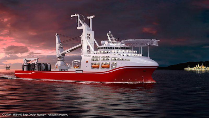 deep water dive support vessel