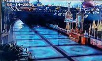Caught on Video: Cargo Ship Slams Into Riverwalk in Bangkok