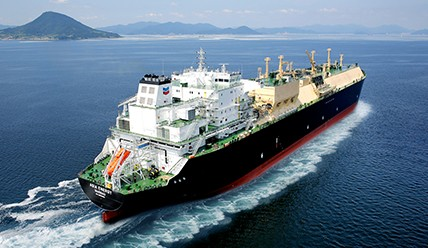 The LNG carrier Asia Vision. Photo credit: Chevron