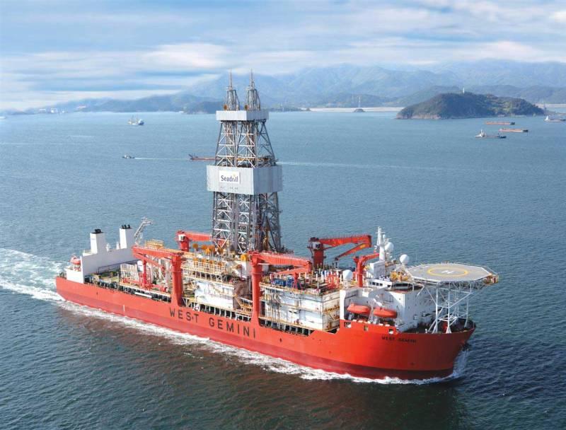 west gemini drillship