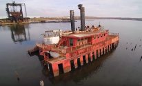 Amazing Drone Video of Once Forgotten Arthur Kill Ship Graveyard