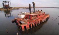 Amazing Drone Video of Once Forgotten Arthur Kill Ship Graveyard