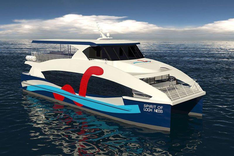 Catamaran Tour Vessel