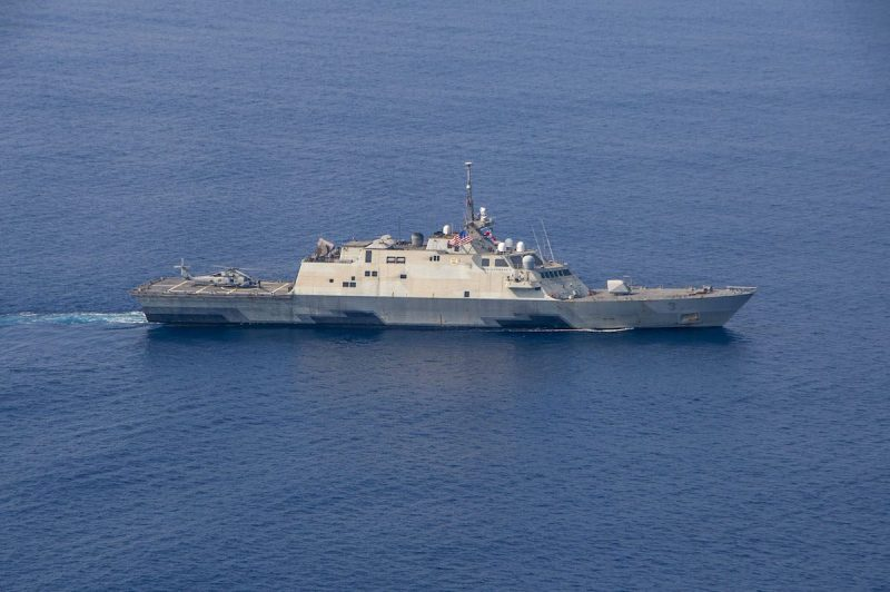 The littoral combat ship USS Fort Worth (LCS 3). Photo: U.S. Navy