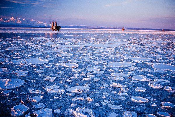 arctic oil rig alaska