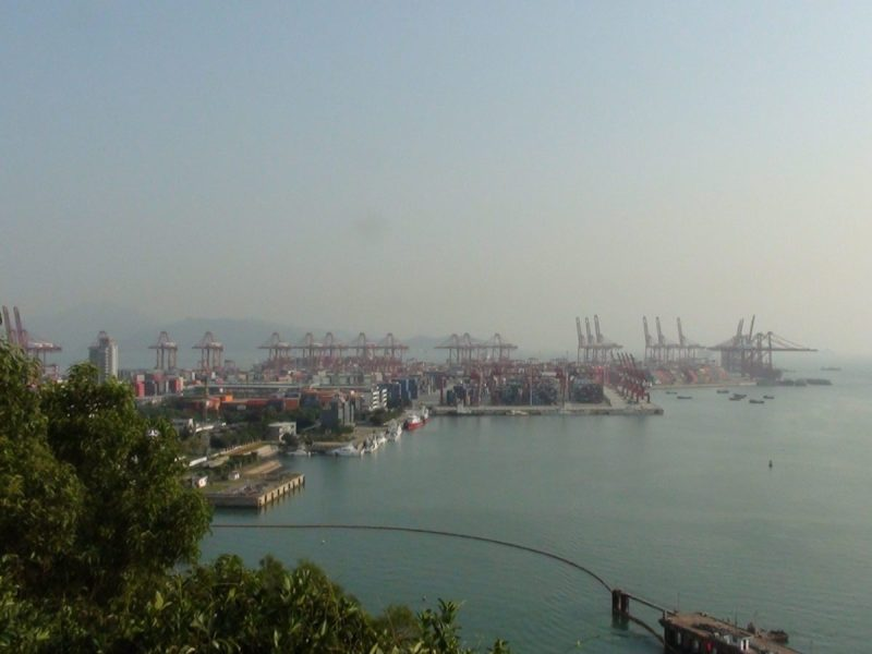 Shenzhen port