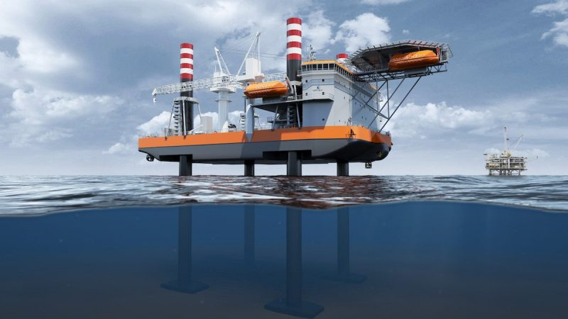 Wärtsilä jack-up vessel