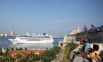 Carnival Cruise Ship Pulls into Havana on Historic Cuba Voyage
