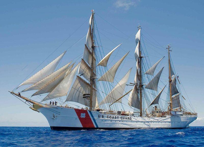 USCGC Eagle file photo.