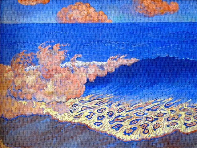Georges Lacombe Marine Bleue 1894-1895