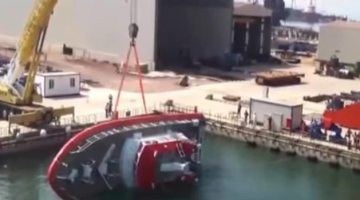 Video: The Craziest Boat Launch You Will Ever See
