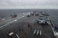 Second U.S. Navy Aircraft Carrier Arrives in Mediterranean