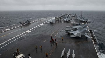 Listen: Is The Age Of Aircraft Carriers Over?