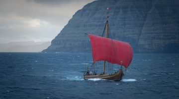 Ship Photos – Real Viking Ship Completes North Atlantic Crossing