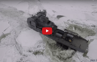 VIDEO: Finland's FNS Louhi and OPV Turva in Full Scale Ice Trials