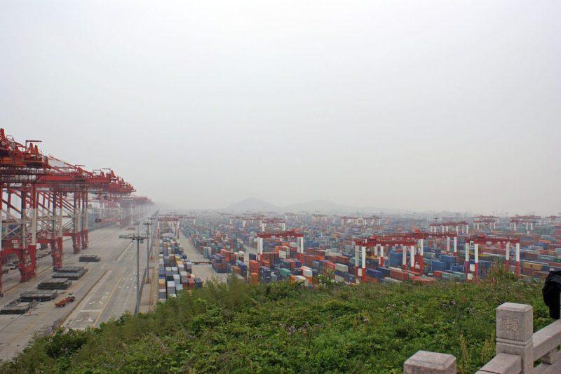 Yangshan Port outside Shanghai. Photo: Bruno Corpet
